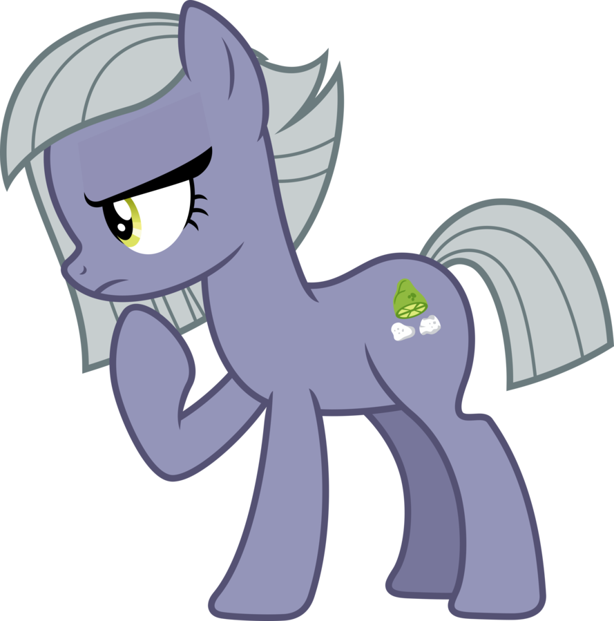 Boulder vector my little pony