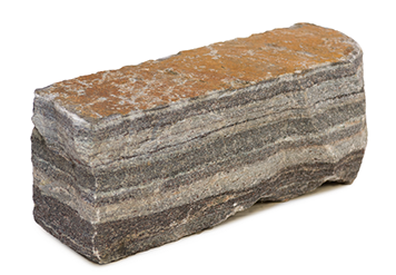 Boulder vector space rock. Stone dimensions as quarried