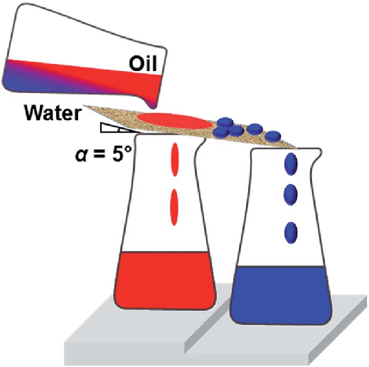 Bounce clipart net force. Schematic illustration of oil