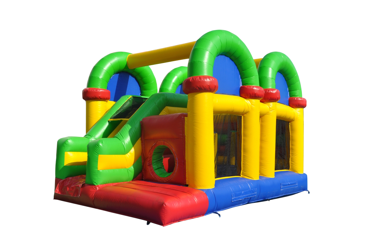Bouncy castle png. Jumping image