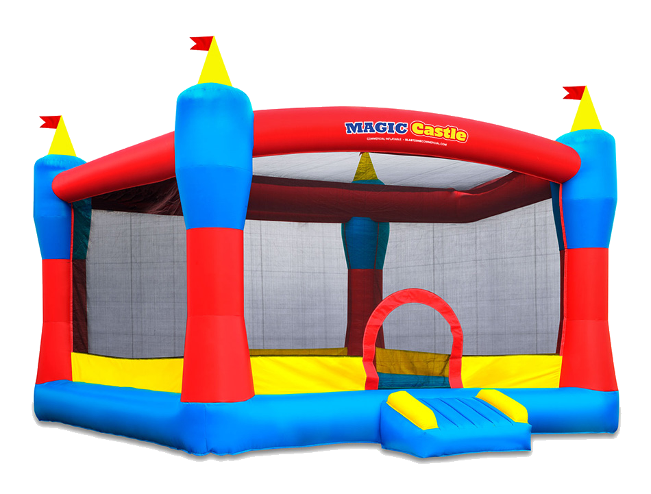 Bouncy castle png. Our inflatables castles and