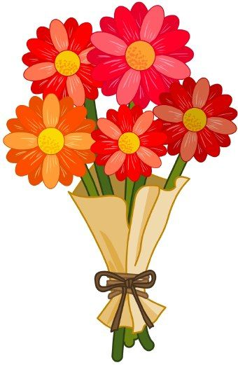 Bouquet clipart. Flower at getdrawings com