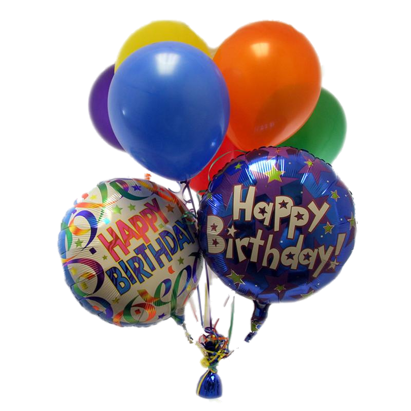 Happy birthday balloon png. Free balloons download clip