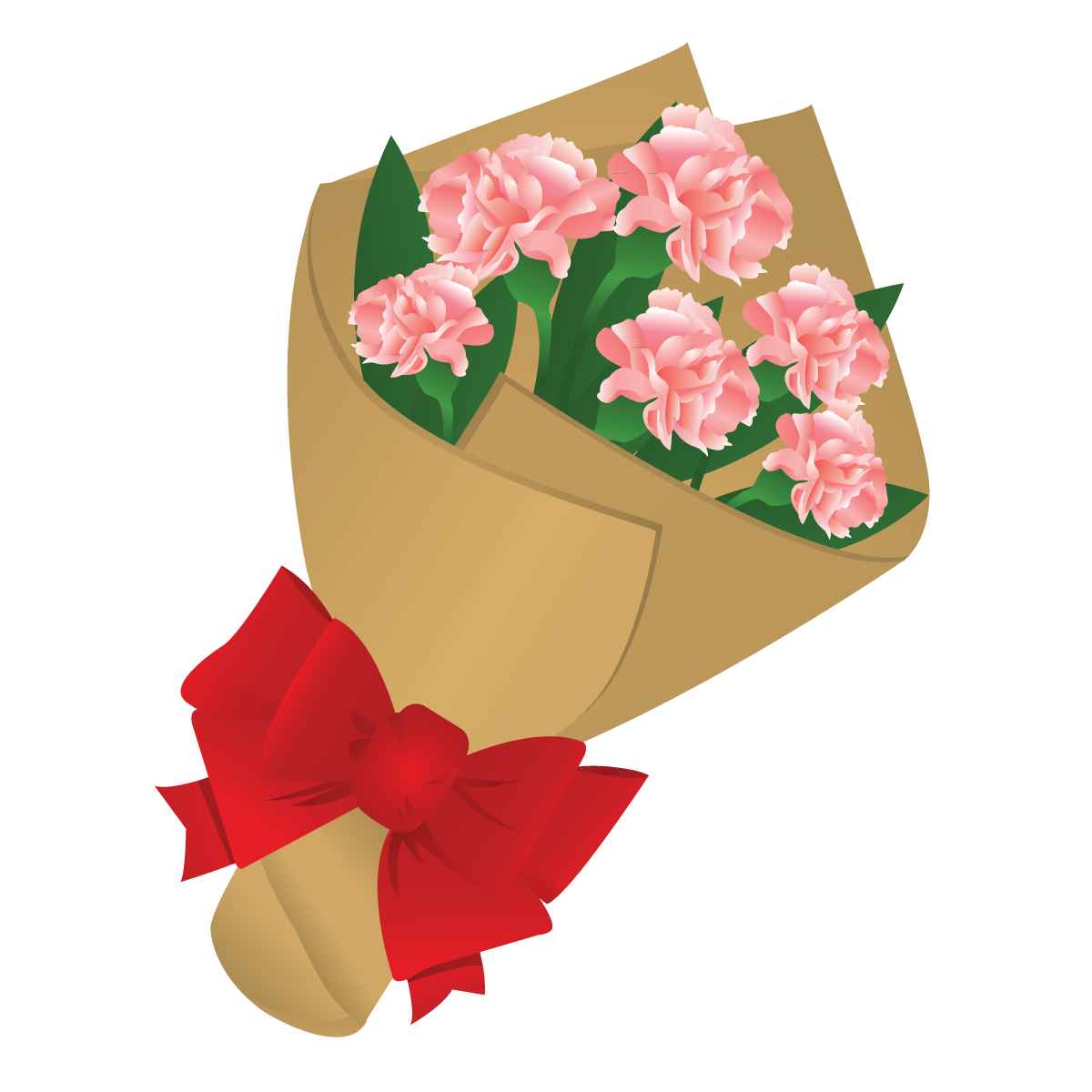 Bouquet vector valentine flower. Free cliparts download clip