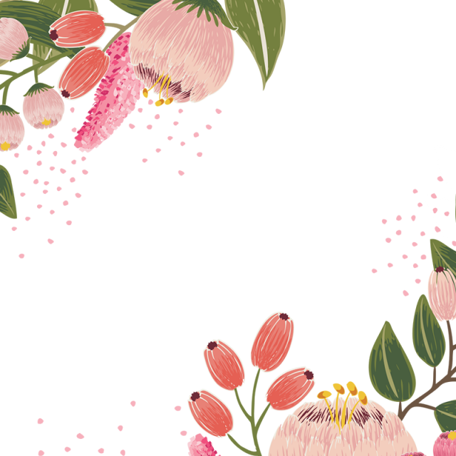 Vintage bloom flower design. Flores vector png clip art library download