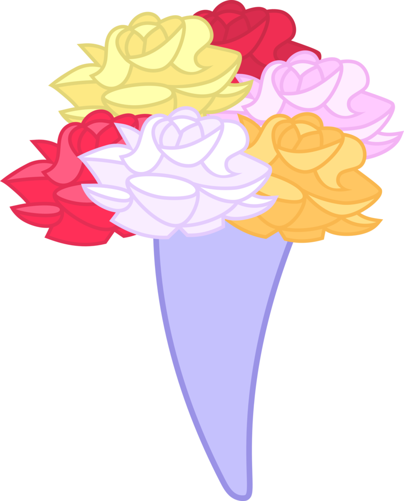 Bouquet of flowers vector png. By jeatz axl on