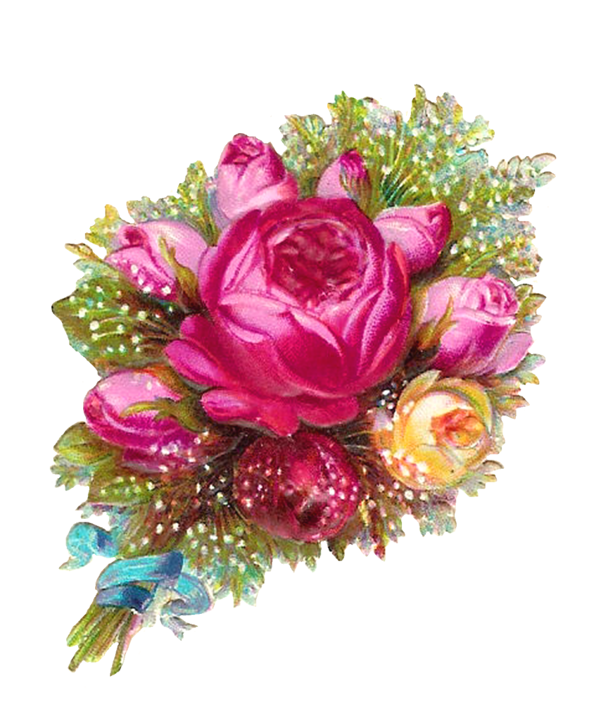 Bouquet of pink flowers png. Roses transparent peoplepng com