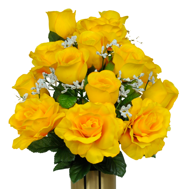 Bouquet of yellow roses png. Softly and tenderly open