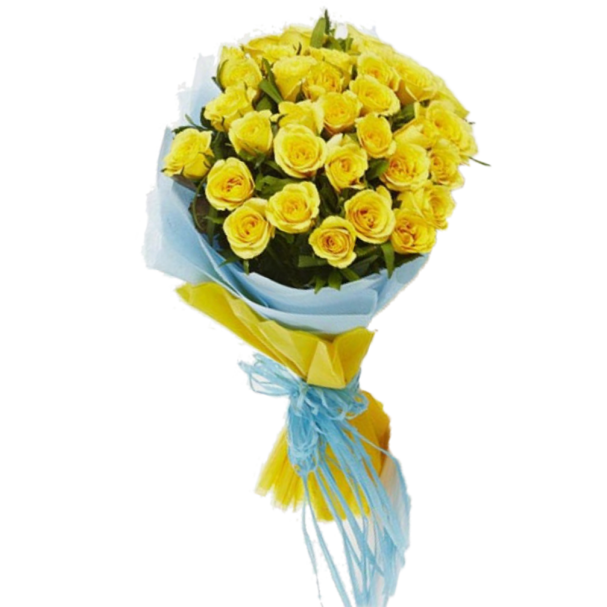 Bouquet of yellow roses png. Bunch myflowergift