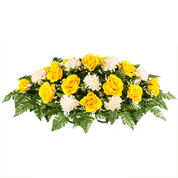 Bouquet of yellow roses png. Golden rose with cream
