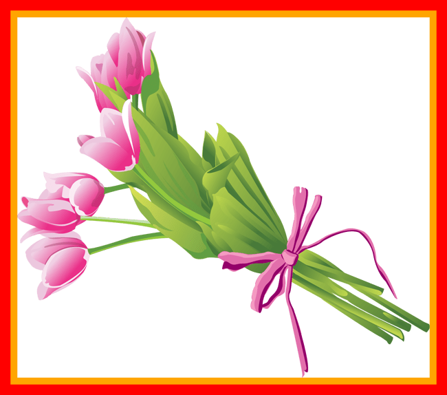 Bouquet vector flower clipart. Fascinating of flowers clip