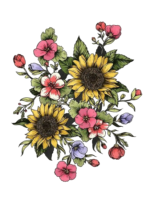Tumblr flowers png. Transparent via discovered by