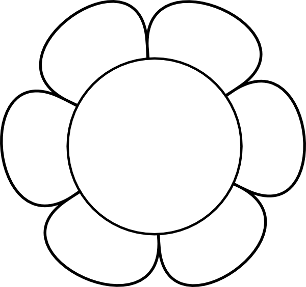 Bouquet vector clip art flower. Outline clipart panda free
