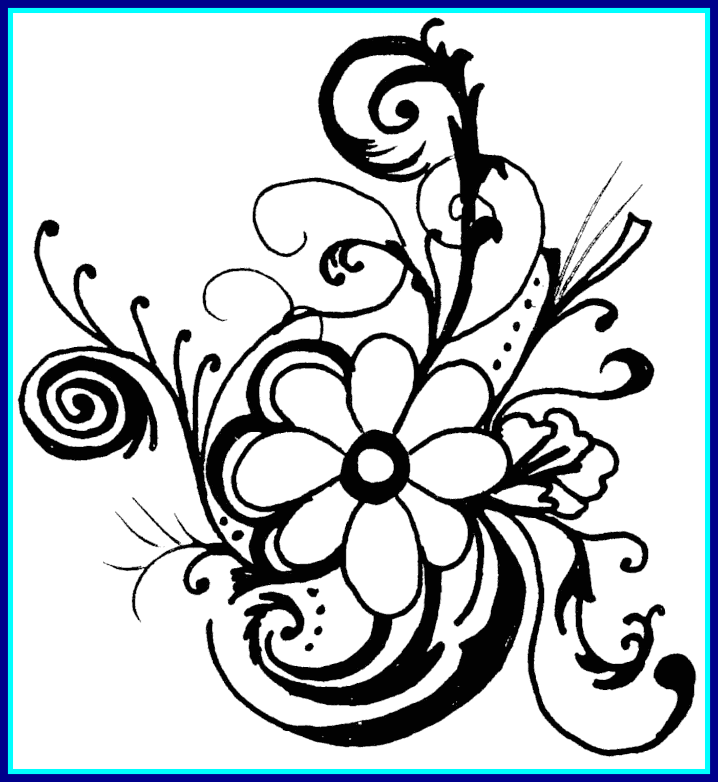 Bouquet vector clip art flower. Rose royalty free stock