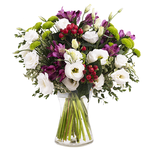 Bouquet vector lisianthus. Send a of and