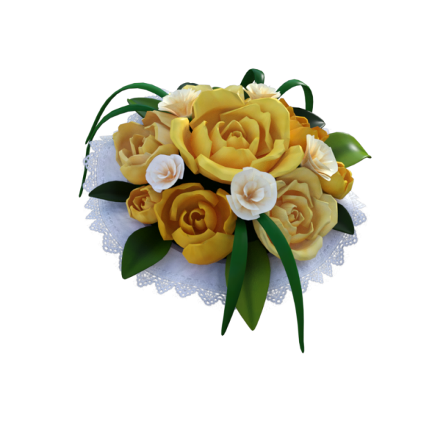 Bouquet Of Yellow Roses Transparent Png Clipart Free Download Ya