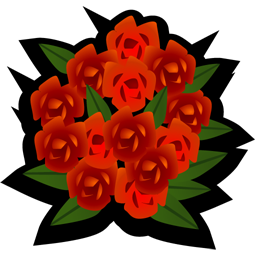 Bouquet vector png. Free download icons and