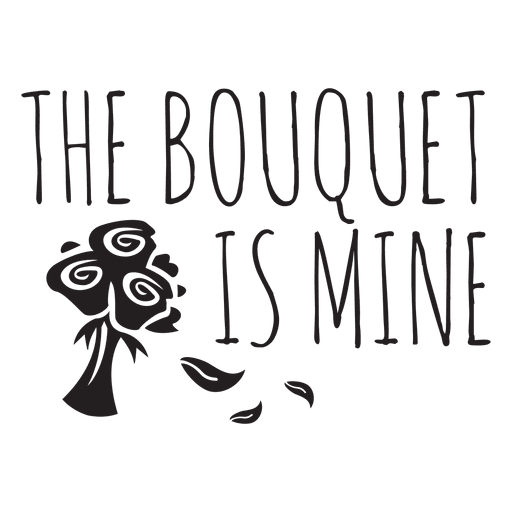 Bouquet vector svg. The is mine wedding