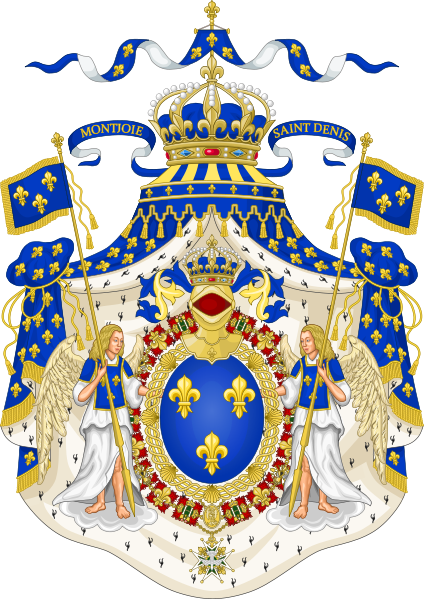 Bourbon coat of arms png. Grand royal france the