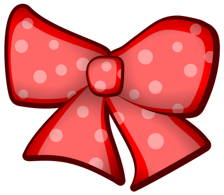 Bow clipart. Red beauty png