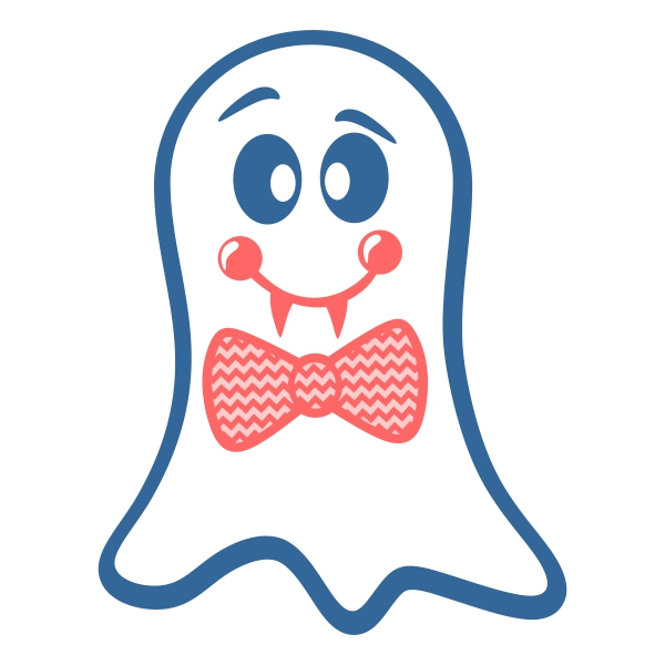 Bow clipart ghost. Tie svg cuttable design