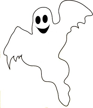 Bow clipart ghost. Halloween silhouette at getdrawings