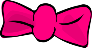 Bow clipart hair bow. Pink boutique
