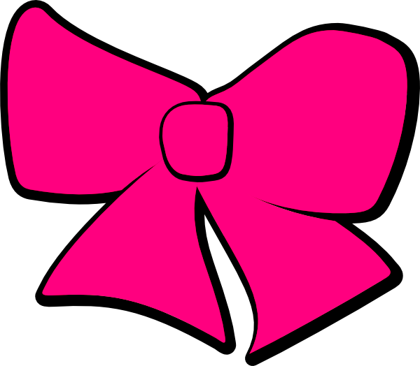 Vector bows cheer bow. Hair clip art at