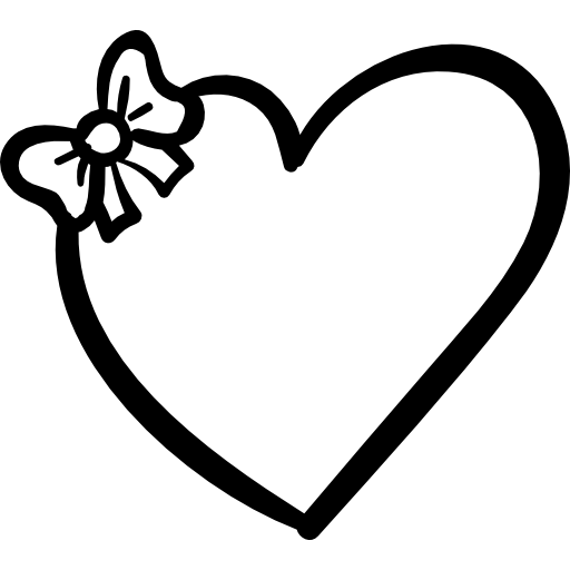 Bow clipart little bow. Heart with a free