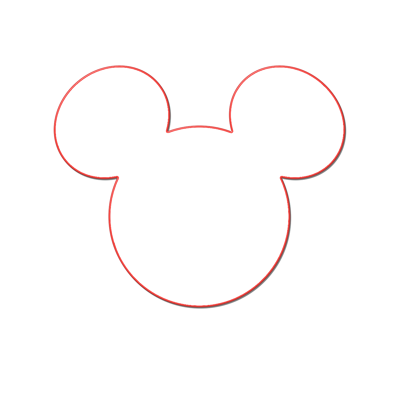 Mickey mouse silhouette png. Free head clipart download