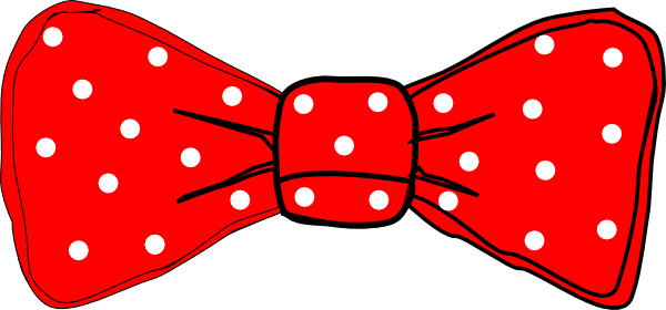 vector bows red