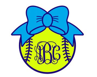 Bow clipart softball. Silhouette at getdrawings com