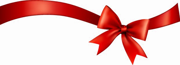 Ribbon png. Red bow tra images