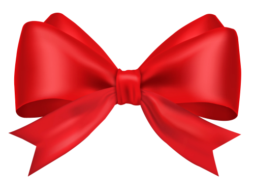 Red ribbon png transparent. Bow image pngpix