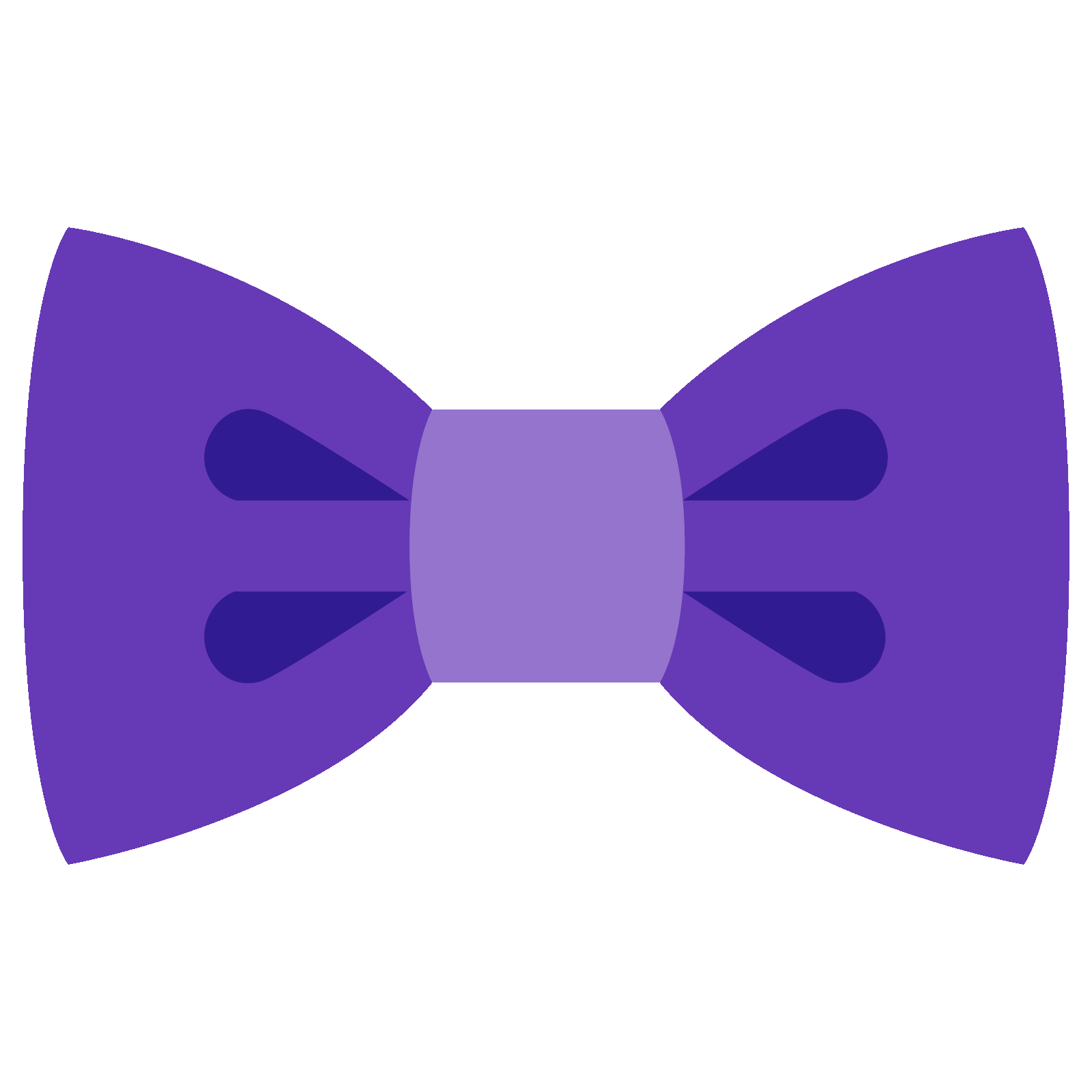 Png bowtie. Filled bow tie icon