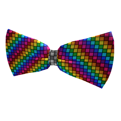 Bow tie png. Image rainbow roblox wikia