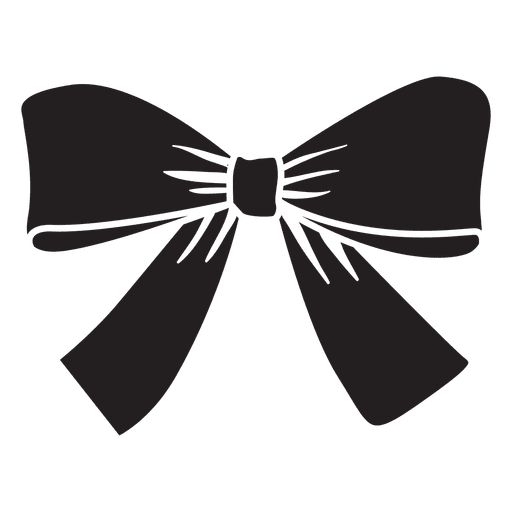 Vector bows compass. Bow tie black gift