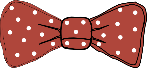 Red clip art at. Vector bows bow tie transparent download