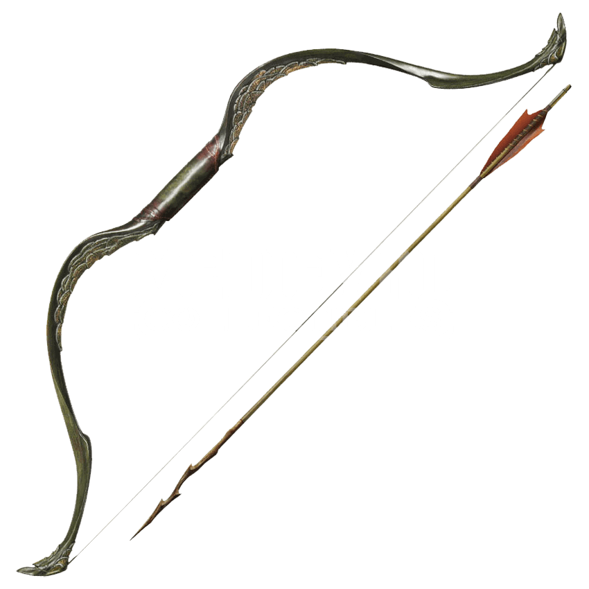 Bow weapon png. And arrow of tauriel