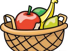 Bowl clipart basket. Fruit of clipartsgramcom cartoon