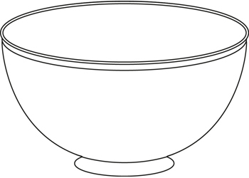 Bowl clipart clear background. Activities b w this
