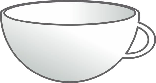 Bowl clipart saucer. Plate teacup white free