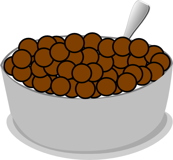 Bowl of cereal png. Spoon clip art at