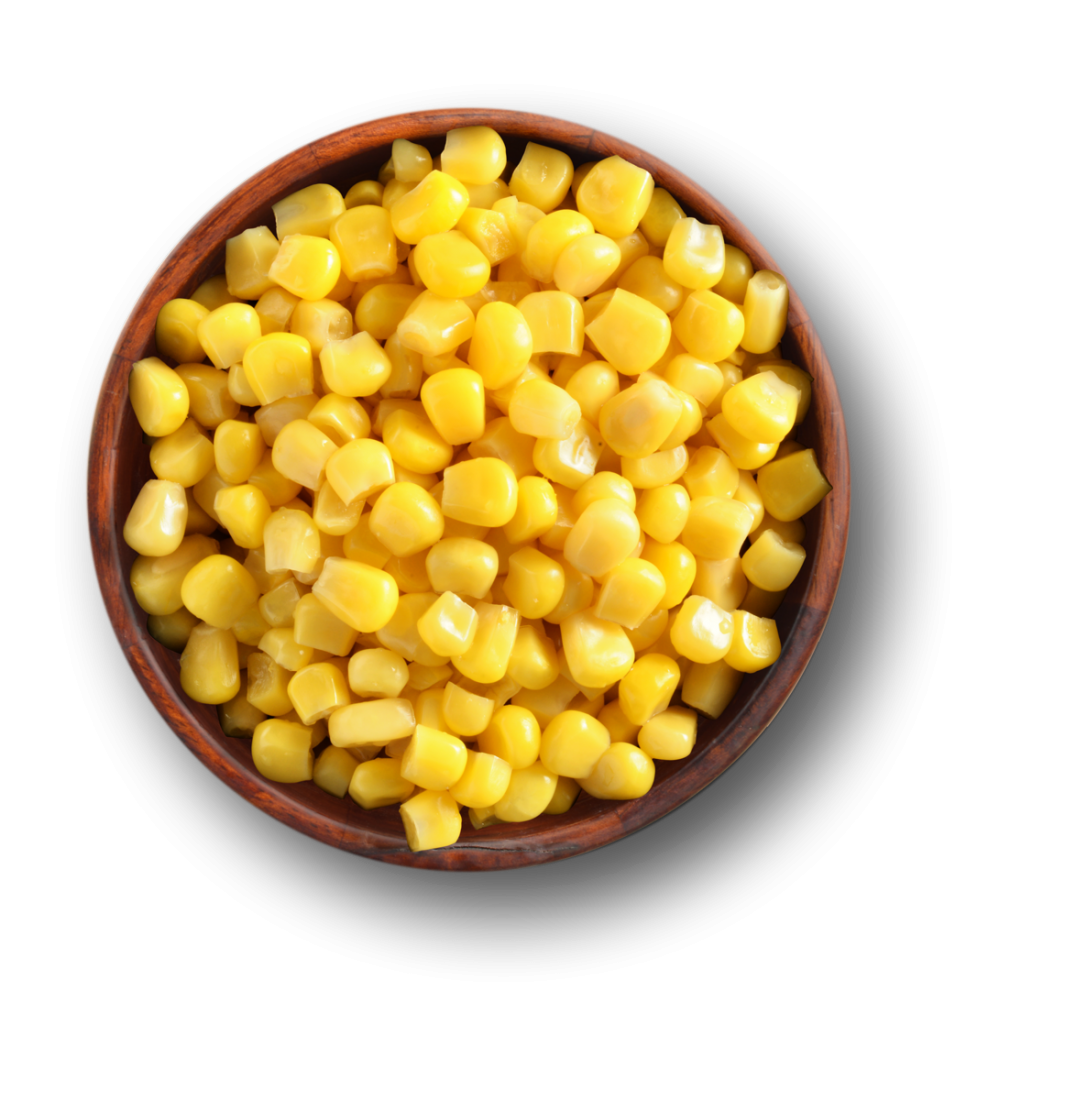 bowl of corn png