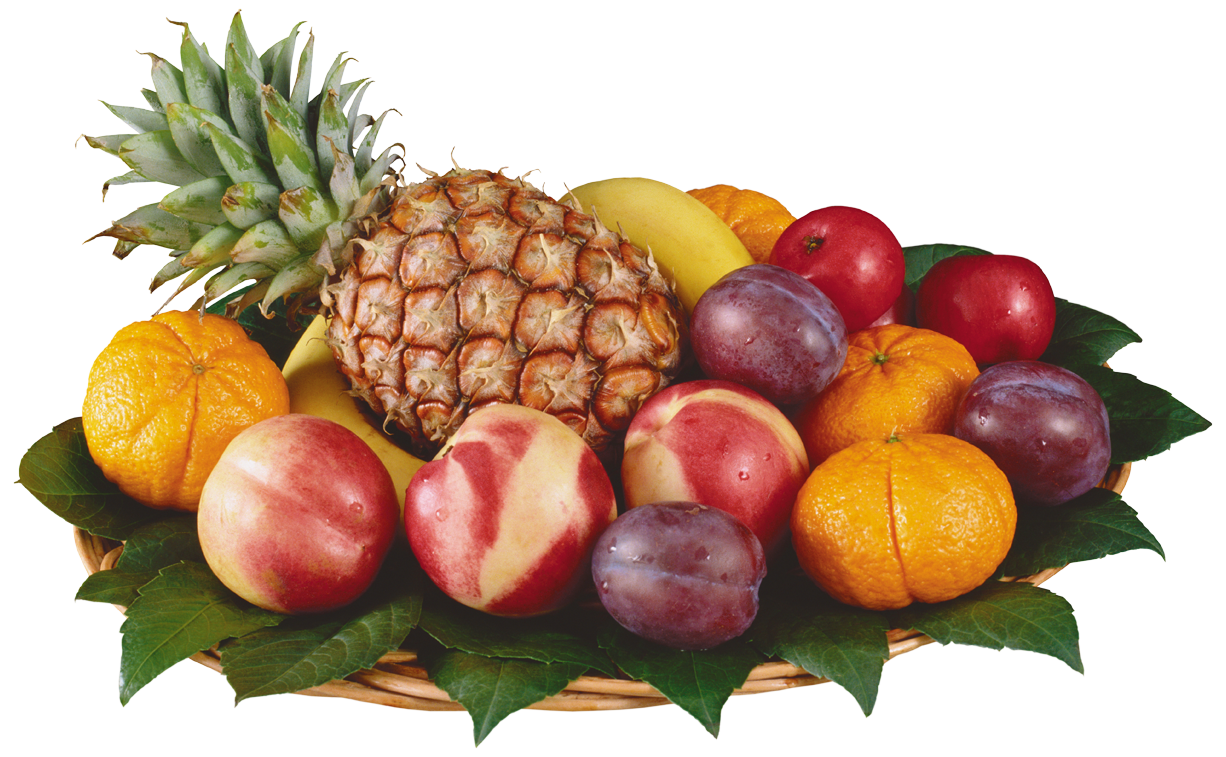 Bowl of fruit png. Mixed fruits in clipart