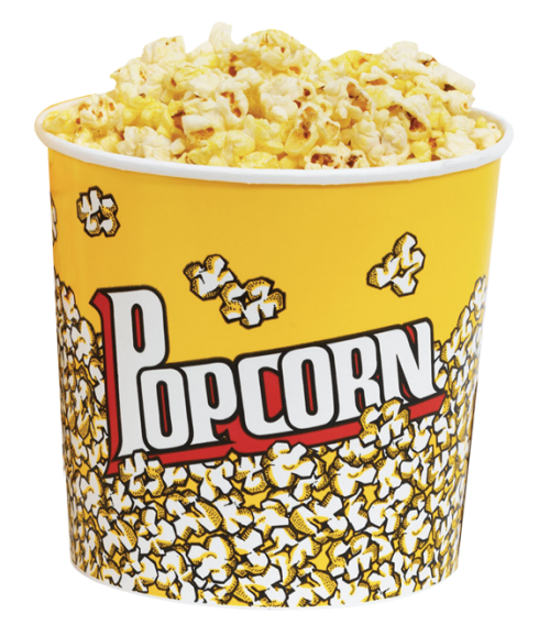 bowl of popcorn png