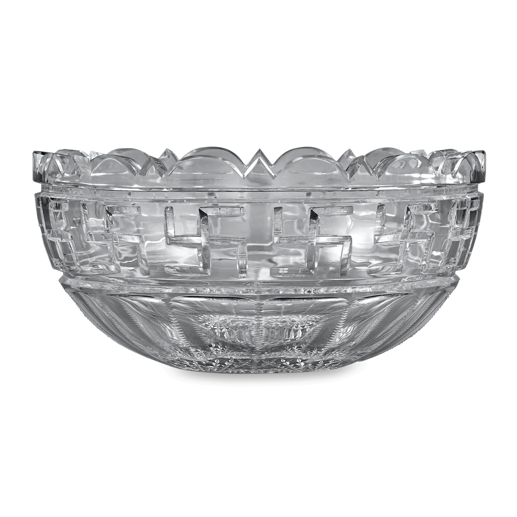 Bowl of punch png. American brilliant cut glass