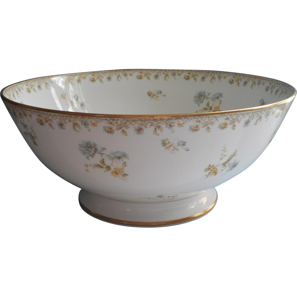 Bowl of punch png. Haviland limoges french china