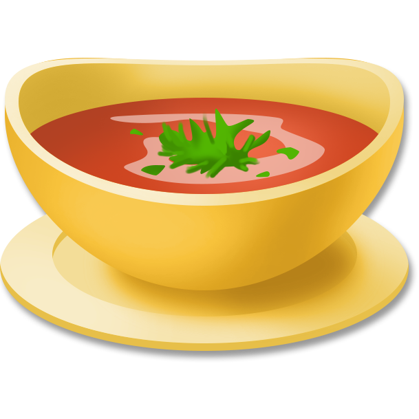 Image tomato hay day. Soup png clipart black and white