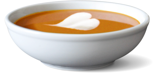 Bowl of soup png.